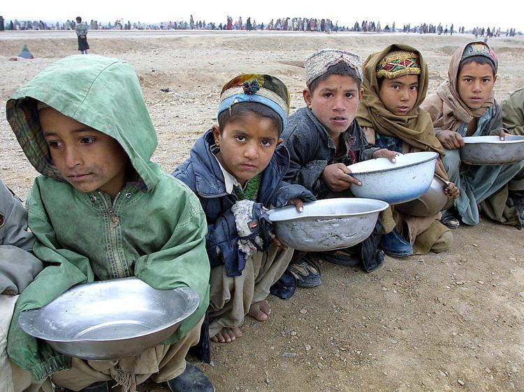 طفل - آمار تکان دهنده یونیسف از شمار کودکان مبتلا به سوءتغذیه در افغانستان