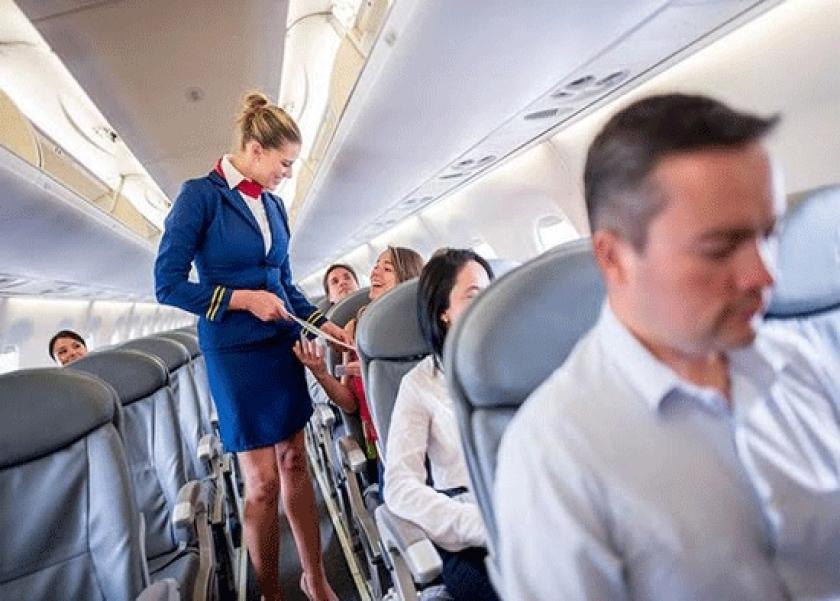 طیاره - جنجال رابطه جنسی دو مسافر در طیاره و شوکه شدن مسافران + تصاویر