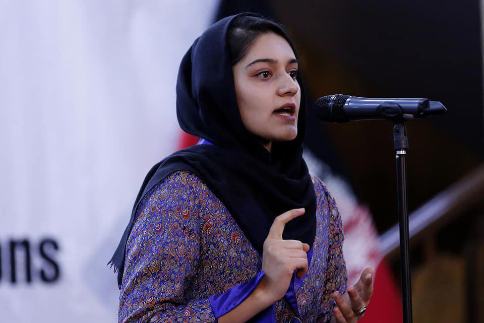 عایشه خرم - انتخاب یک بانو به حیث نماینده جوانان افغانستان در ملل متحد