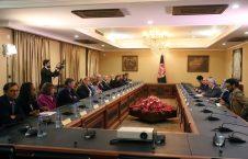 عبدالله عبدالله نانسی پلوسی 226x145 - دیدار رییس اجراییه حکومت وحدت ملی با هیئت کانگرس ایالات متحده امریکا