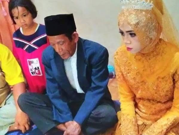 عروس اندونزیا - دخترجوانی که عاشق پیرمرد 83 ساله شد