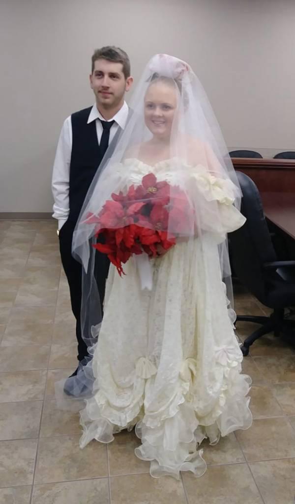 عروس و داماد - ازدواجی که فقط 5 دقیقه طول کشید
