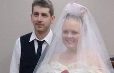 عروس و داماد3 1 226x145 - ازدواجی که فقط 5 دقیقه طول کشید