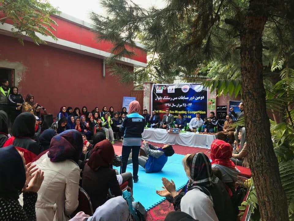 فتنس بانوان 1 - ختم رقابت های مس رستلنگ بانوان در کابل