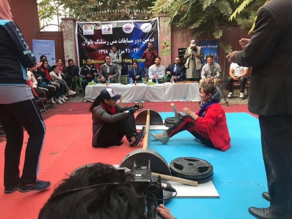 فتنس بانوان 2 - ختم رقابت های مس رستلنگ بانوان در کابل