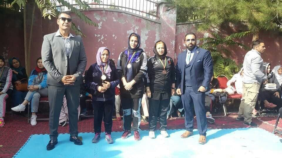 فتنس بانوان 3 - ختم رقابت های مس رستلنگ بانوان در کابل