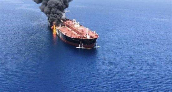 نفتکش  550x295 - انفجار در بدنه کشتی ایرانی در بحر سرخ