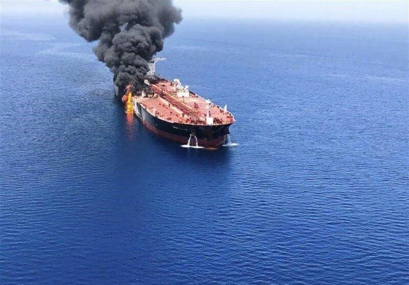نفتکش  - انفجار در بدنه کشتی ایرانی در بحر سرخ