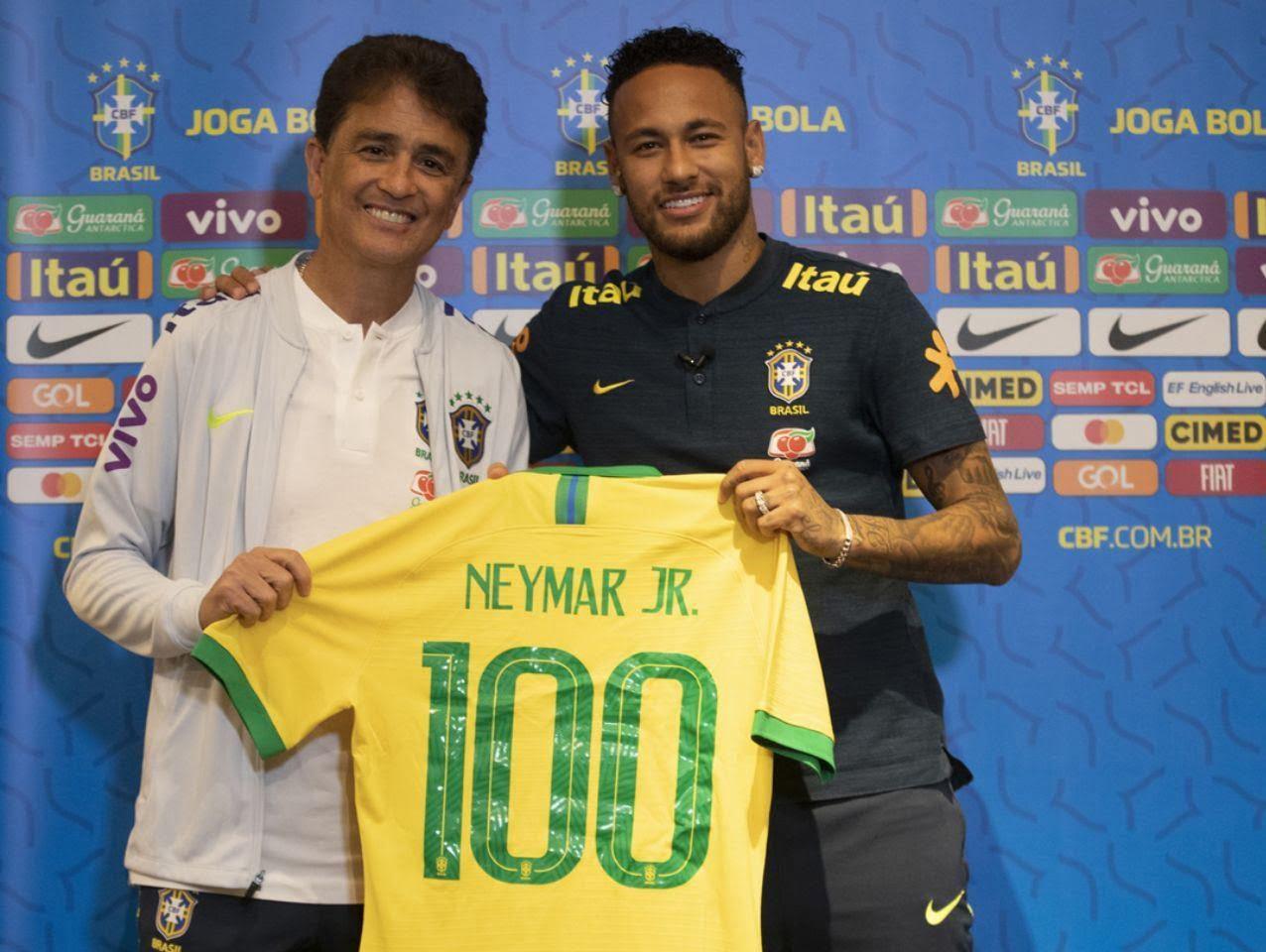 نیمار - هدیه خاص فدراسیون فوتبال برازیل به نیمار