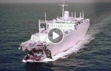 ویدیو تصادف وحشتناک قایق 226x145 - ویدیو/ لحظه تصادف وحشتناک دو قایق