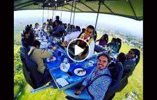 ویدیو رستورانت هند هوا معلق 226x145 - ویدیو/ رستورانتی در هند که در هوا معلق است