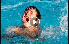 ویدیو نجات طفل غرق 226x145 - ویدیو/ لحظه نجات طفلی که در حال غرق شدن بود
