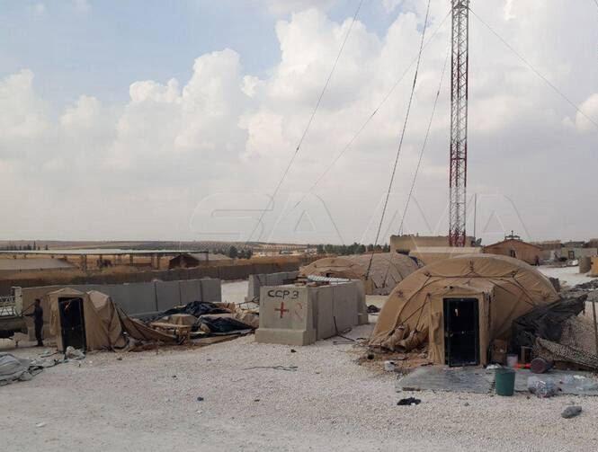 پایگاه امریکا سوریه1 - تصاویر/ پایگاه نظامیان امریکایی در سوریه