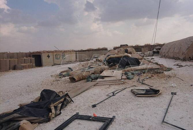 پایگاه امریکا سوریه2 - تصاویر/ پایگاه نظامیان امریکایی در سوریه