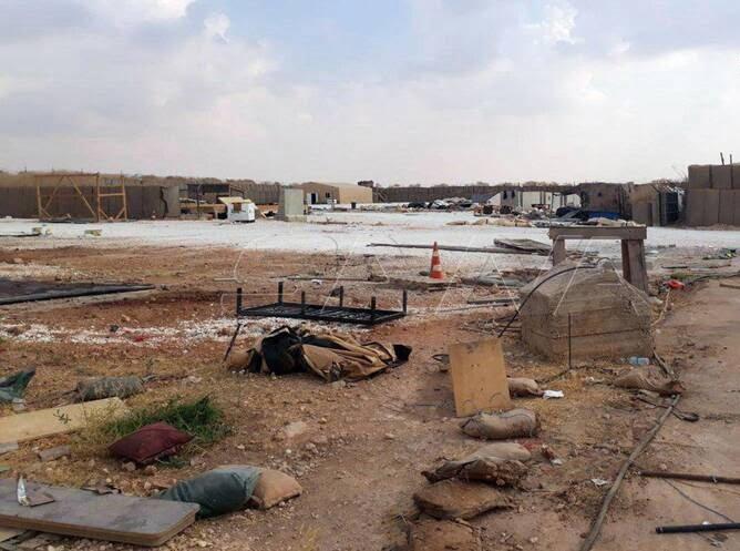 پایگاه امریکا سوریه3 - تصاویر/ پایگاه نظامیان امریکایی در سوریه