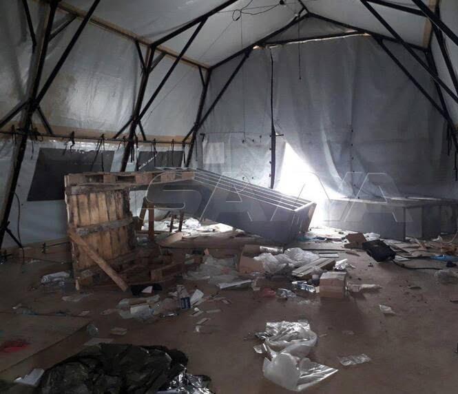 پایگاه امریکا سوریه4 - تصاویر/ پایگاه نظامیان امریکایی در سوریه