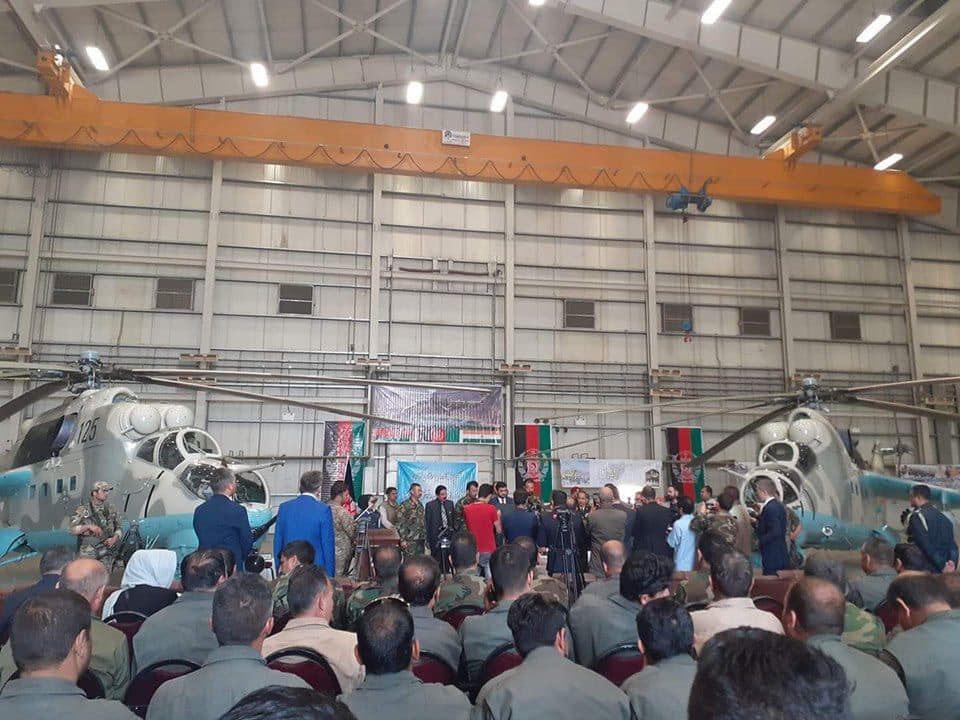 چرخبال MI35.3 - هند دو فروند چرخبال جنگی MI35 با افغانستان کمک نمود
