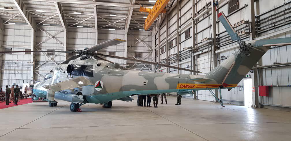 چرخبال MI35.4 - هند دو فروند چرخبال جنگی MI35 با افغانستان کمک نمود