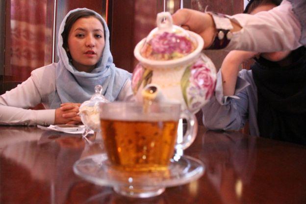کافه زنان 4 - کافه زنان در غزنی + تصاویر