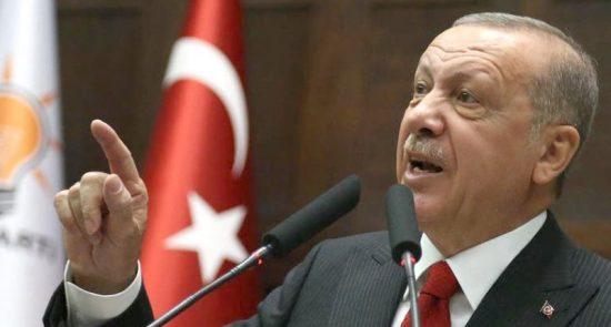 اردوغان1 550x295 - اردوغان از سرنوشت خانواده ابوبکر البغدادی خبر داد