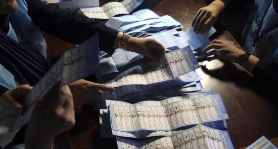 انتخابات1 550x295 - تاخیر در اعلام نتایج انتخابات و سوالاتی که کمیسیون باید پاسخ بدهد