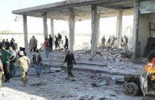 انفجار سوریه 2 226x145 - تصاویر/ انفجار یک موتر بم گذاری شده در شهر تل ابیض سوریه