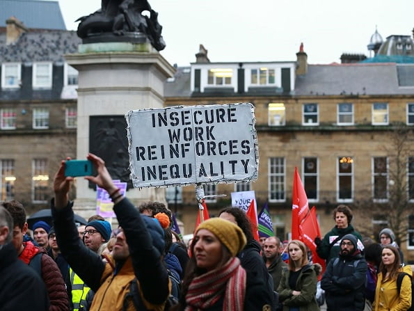 بریتانیا استاد - اعتصاب کاری استادان و کارکنان پوهنتونهای بریتانیا