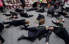 بلجیم 226x145 - تصویر/ اعتراض عجیب زنان در بلجیم