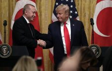 ترمپ اردوغان 226x145 - استقبال گرم رییس جمهور امریکا از همتای ترکیاش