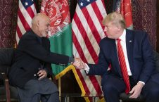 ترمپ اشرف غنی 226x145 - سفر رییس جمهور ایالات متحده به افغانستان