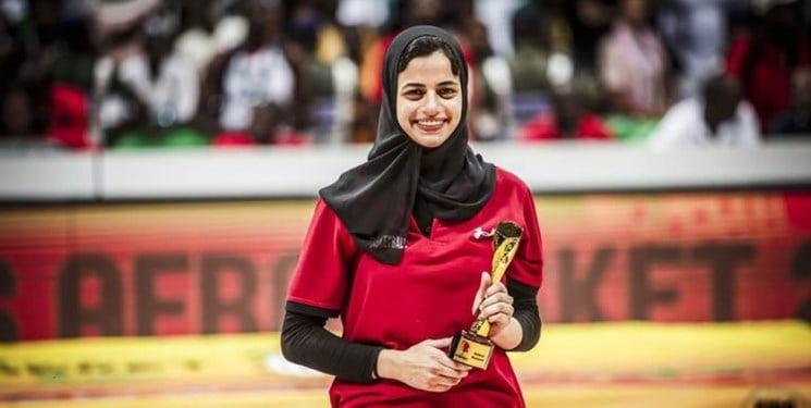 ثریا محمد1 - بانوی مسلمان مصری قهرمان تورنمنت باسکتبال افریقا شد