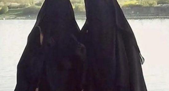 داعش زن1 550x295 - دستگیر شدن ۵ زن داعشی در ولایت صلاح الدین عراق