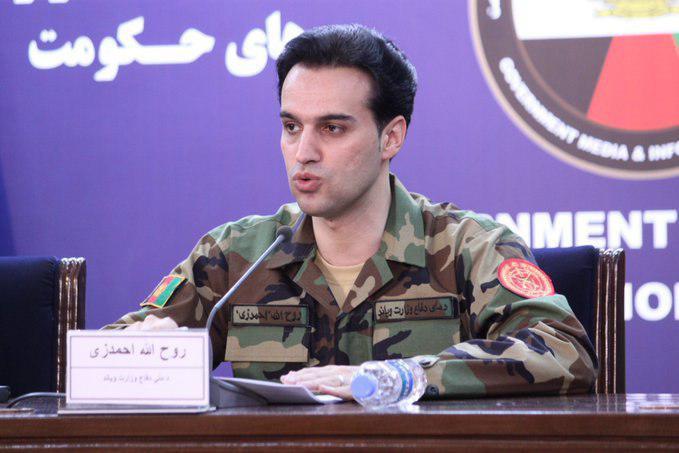 روح الله احمدزی - واکنش وزارت دفاع ملی به ادعای نیروهای سرحدی تاجکستان