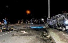 رویداد ترافیکی ایران 226x145 - مرگ 28 باشنده افغان در یک رویداد ترافیکی در ایران