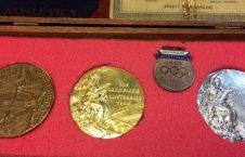 مدالهای المپیکی 226x145 - مدالهای ورزشکار سیاهپوست بریتانیا به حراج گذاشته شد