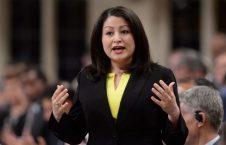 مریم منصف 226x145 - نماینده افغان الاصل پارلمان کانادا با عشقش نامزاد شد + عکس