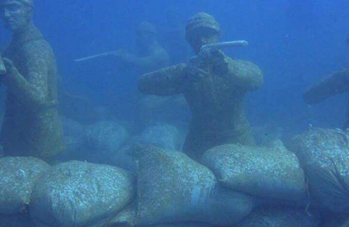موزیم 5 - تصاویر/ موزیم در زیر آب