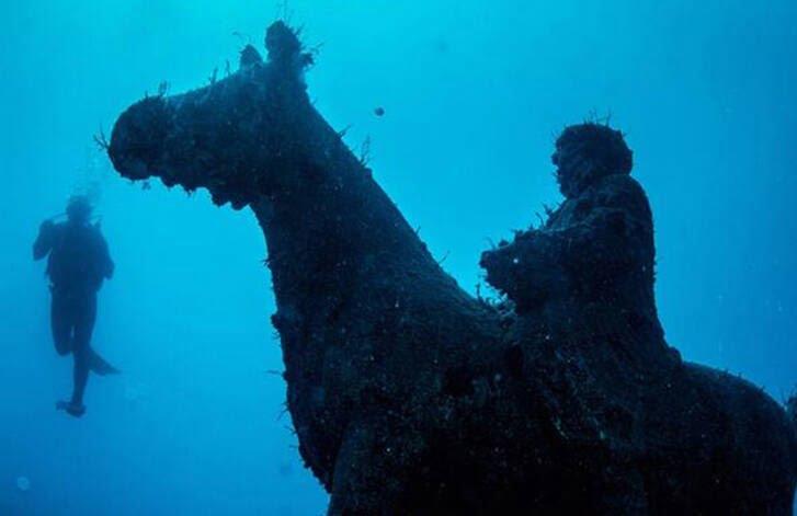 موزیم 6 - تصاویر/ موزیم در زیر آب