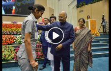 هند پولیس زن 226x145 - ویدیو/ اقدام انسانی رییس جمهور هند با پولیس زن