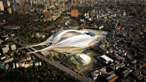 ورزشگاه جاپان - کشف استخوانهای 187 نفر در ورزشگاه ملی توکیوی جاپان