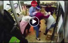 ویدیو درگیری زن محل کار 226x145 - ویدیو/ درگیری شدید بین دو زن در محل کار