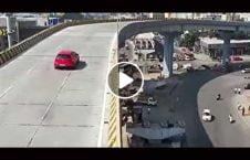 ویدیو سقوط مرگبار موتر هند 226x145 - ویدیو/ سقوط مرگبار یک موتر در هند