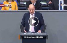 ویدیو سکته پارلمان جرمنی سخنرانی 226x145 - ویدیو/ لحظه سکته نماینده پارلمان جرمنی حین سخنرانی