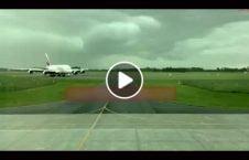 ویدیو صاعقه طیاره مسافربری 226x145 - ویدیو/ لحظه برخورد صاعقه به نزدیکی طیاره مسافربری