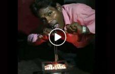 ویدیو مرد برقی هند 226x145 - ویدیو/ مرد برقی هم در هند پیدا شد