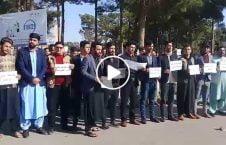 ویدیو گردهمایی هرات قیمت تکت پرواز 226x145 - ویدیو/ گردهمایی اعتراضی جوانان هرات در پیوند به بلند بودن قیمت تکت پروازهای داخلی