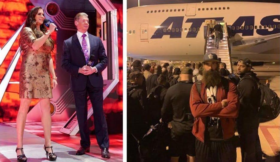 کشتی کج عربستان - بی کفایتی سعودیها در برگزاری مسابقات کشتیکج (WWE)