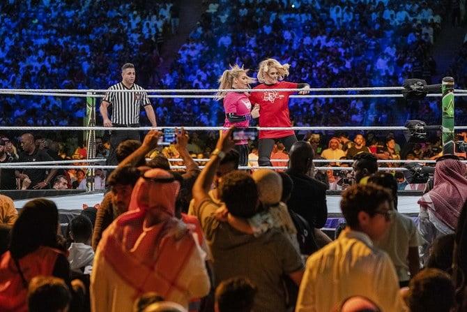 کشتی کج عربستان2 - بی کفایتی سعودیها در برگزاری مسابقات کشتیکج (WWE)