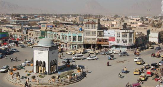 کندهار 550x295 - حمله انتحاری بالای یک پایگاه نظامی در کندهار