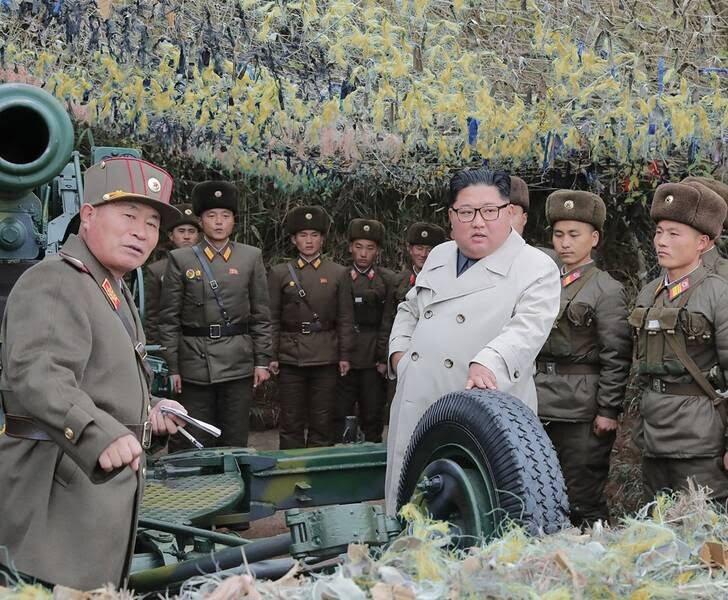کیم جونگ اون 3 - تصاویر/ دیدار رهبر کوریای شمالی با عساکر زن اردوی ملی
